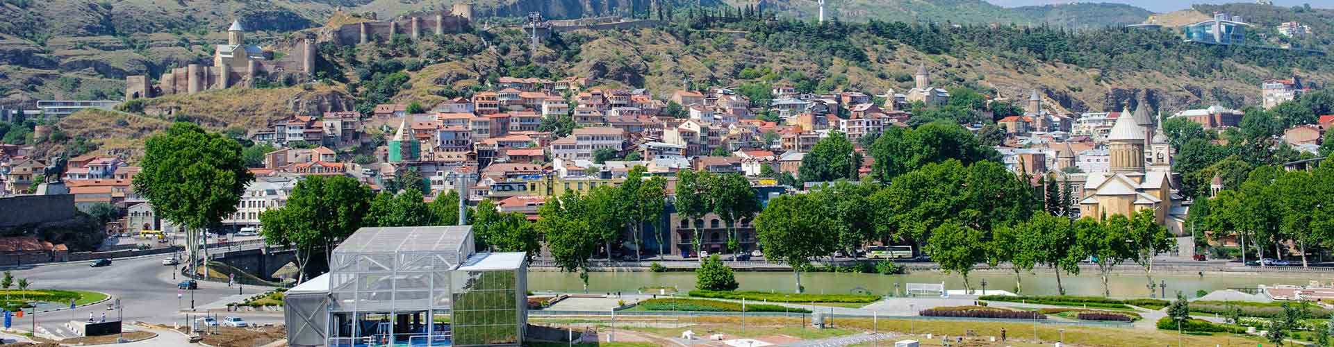 Tiflis - Zelten in Tiflis. Tiflis auf der Karte. Fotos und Bewertungen für jeden Zeltplatz in Tiflis.