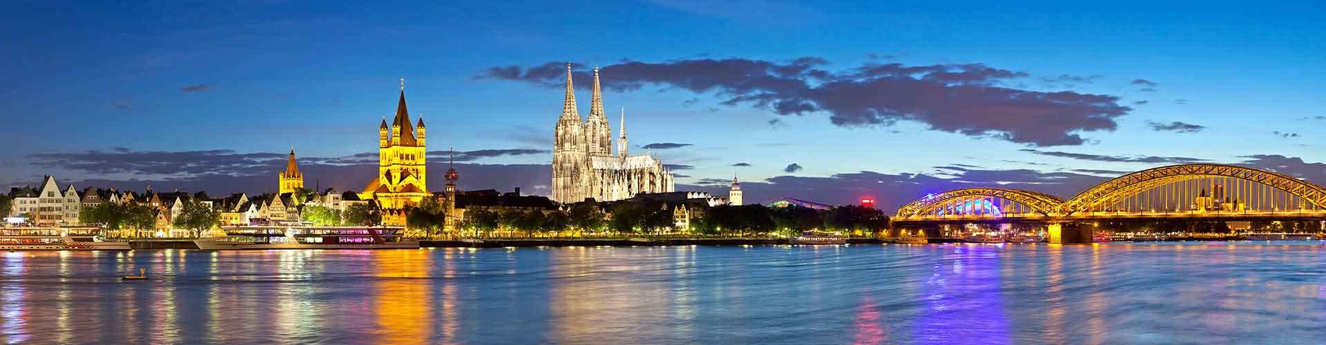 Köln – Hostels in Köln. Köln auf der Karte. Fotos und Bewertungen für jedes Hostel in Köln.