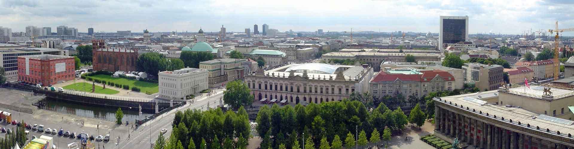 Berlin – Hostels im Stadtteil Mitte. Berlin auf der Karte. Fotos und Bewertungen für jedes Hostel in Berlin.