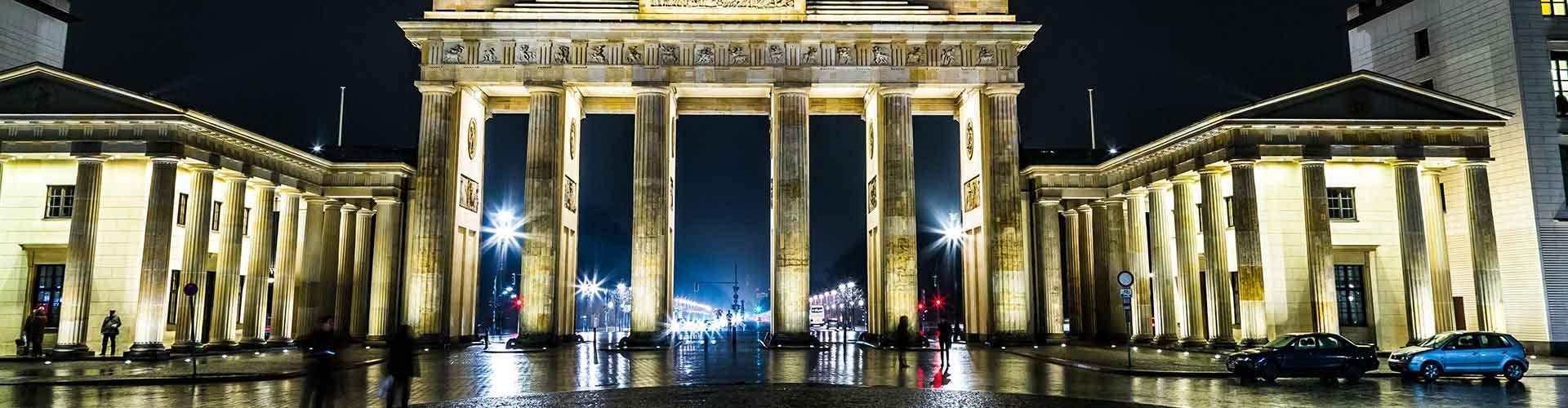 Berlin – Hostels in der Nähe von Brandenburger Tor. Berlin auf der Karte. Fotos und Bewertungen für jedes Hostel in Berlin.