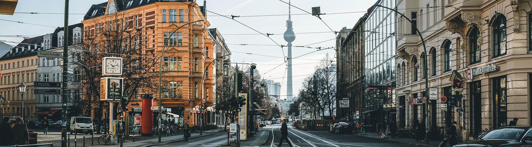 Berlin – Hostels in der Nähe von Stadtzentrum. Berlin auf der Karte. Fotos und Bewertungen für jedes Hostel in Berlin.