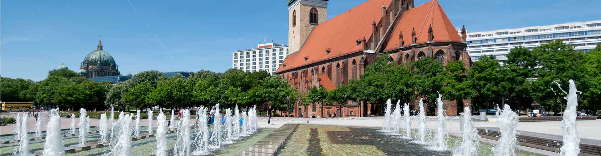 Berlin – Hostels in der Nähe von Marienkirche. Berlin auf der Karte. Fotos und Bewertungen für jedes Hostel in Berlin.