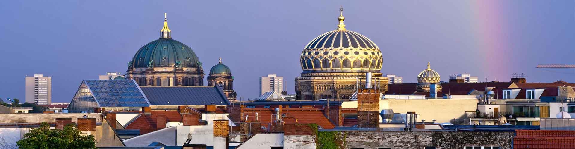 Berlin – Hostels in der Nähe von Neue Synagoge. Berlin auf der Karte. Fotos und Bewertungen für jedes Hostel in Berlin.