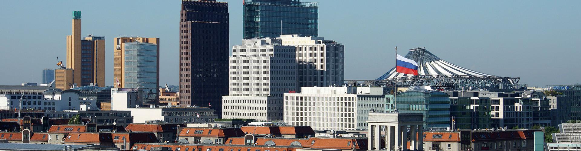 Berlin – Hostels in der Nähe von Potsdamer Platz. Berlin auf der Karte. Fotos und Bewertungen für jedes Hostel in Berlin.