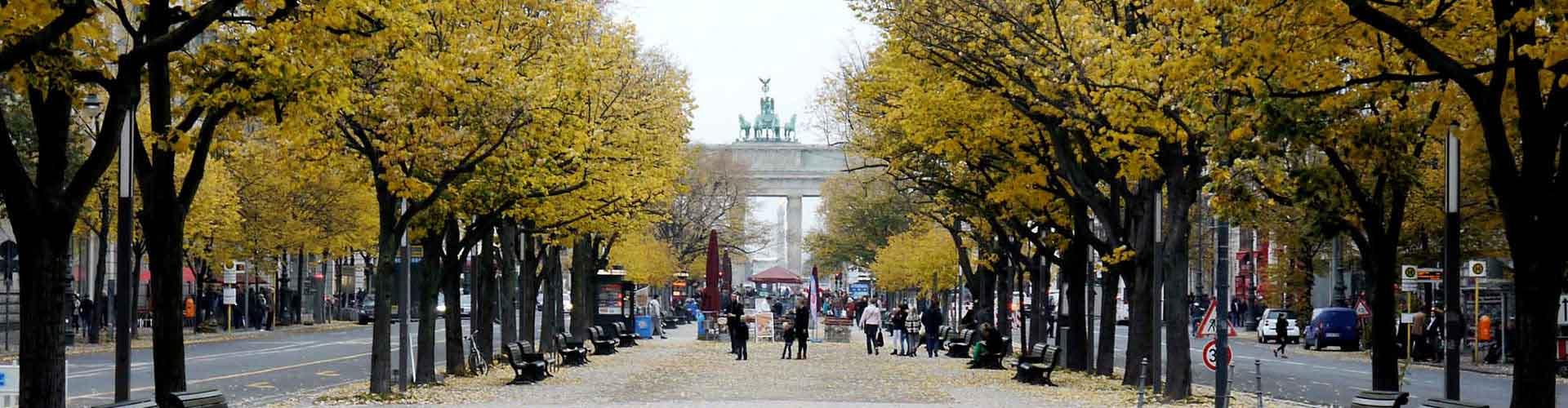 Berlin – Hostels in der Nähe von Unter den Linden. Berlin auf der Karte. Fotos und Bewertungen für jedes Hostel in Berlin.