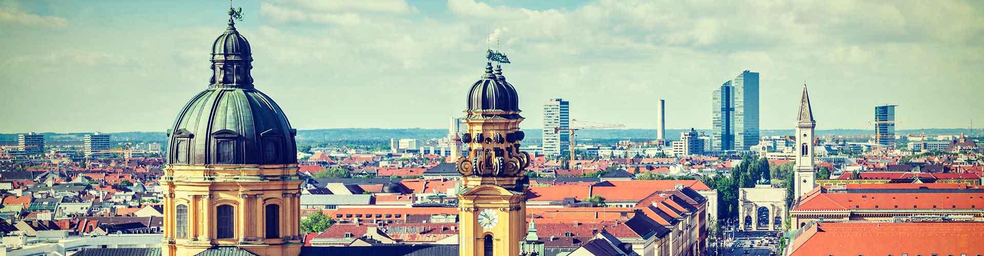 München – Hostels in München. München auf der Karte. Fotos und Bewertungen für jedes Hostel in München.