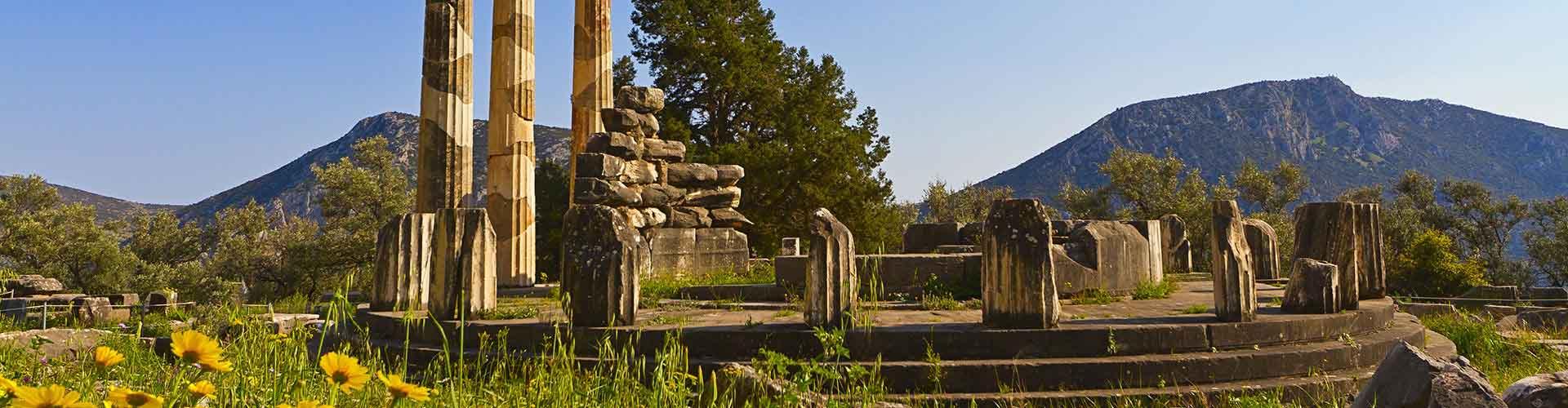 Delphi – Hostels in Delphi. Delphi auf der Karte. Fotos und Bewertungen für jedes Hostel in Delphi.