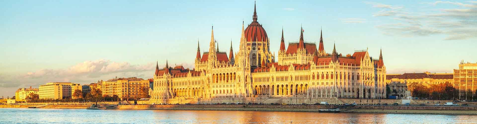 Budapest - Hotels nahe Stadtzentrum. Budapest auf der Karte. Fotos und Bewertungen für jedes Hotel in Budapest.