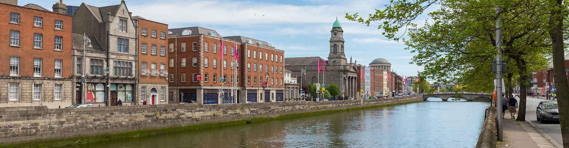 Dublin – Hostels in der Nähe von Stadtzentrum. Dublin auf der Karte. Fotos und Bewertungen für jedes Hostel in Dublin.
