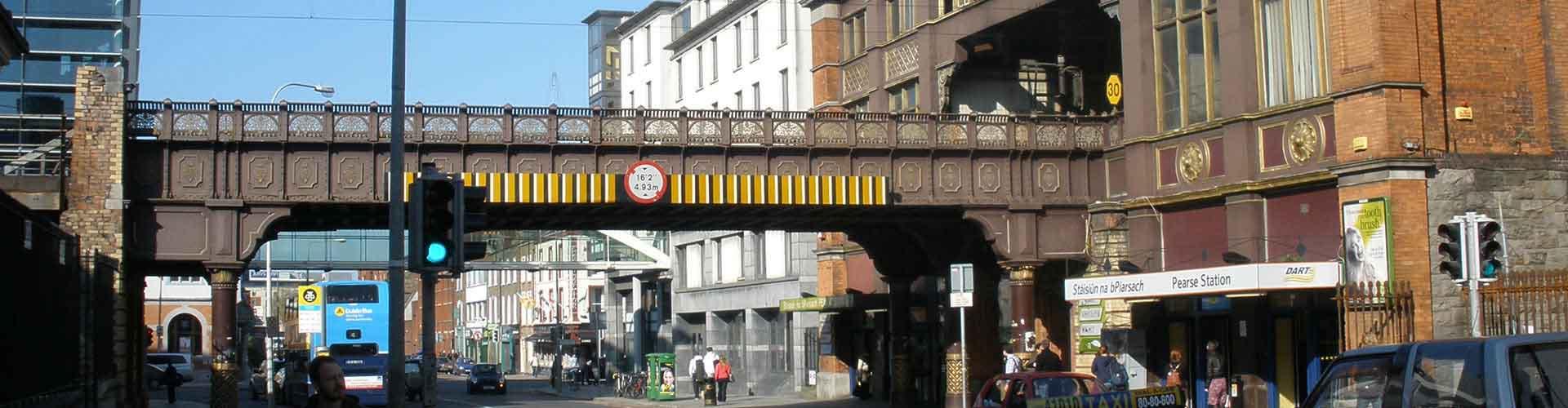 Dublin - Zelten nahe Dublin Pearse Bahnhof. Dublin auf der Karte. Fotos und Bewertungen für jeden Zeltplatz in Dublin.