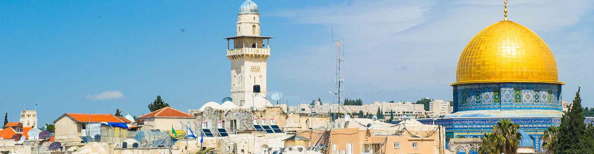 Jerusalem – Hostels in Jerusalem. Jerusalem auf der Karte. Fotos und Bewertungen für jedes Hostel in Jerusalem.