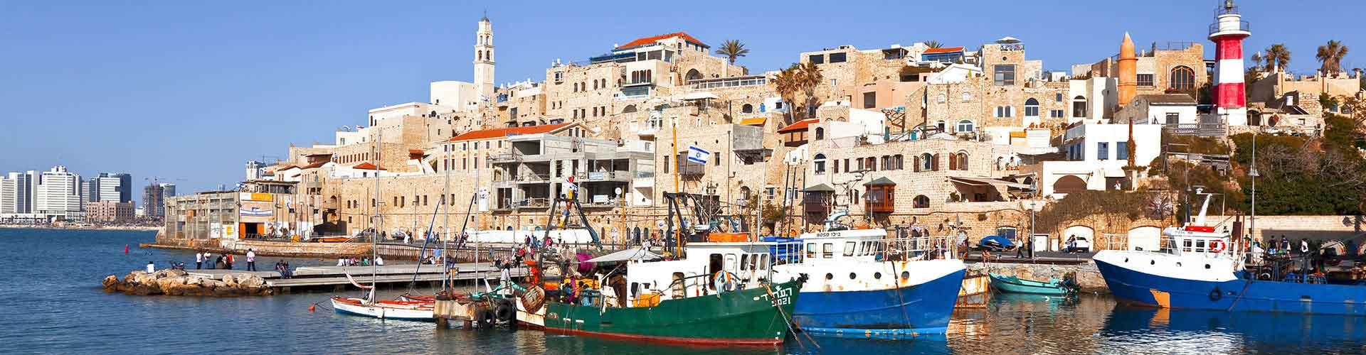 Tel Aviv – Hostels in Tel Aviv. Tel Aviv auf der Karte. Fotos und Bewertungen für jedes Hostel in Tel Aviv.