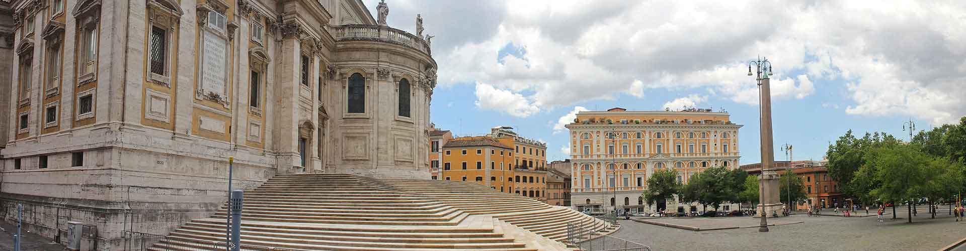 Rom – Hostels im Stadtteil Esquilino. Rom auf der Karte. Fotos und Bewertungen für jedes Hostel in Rom.
