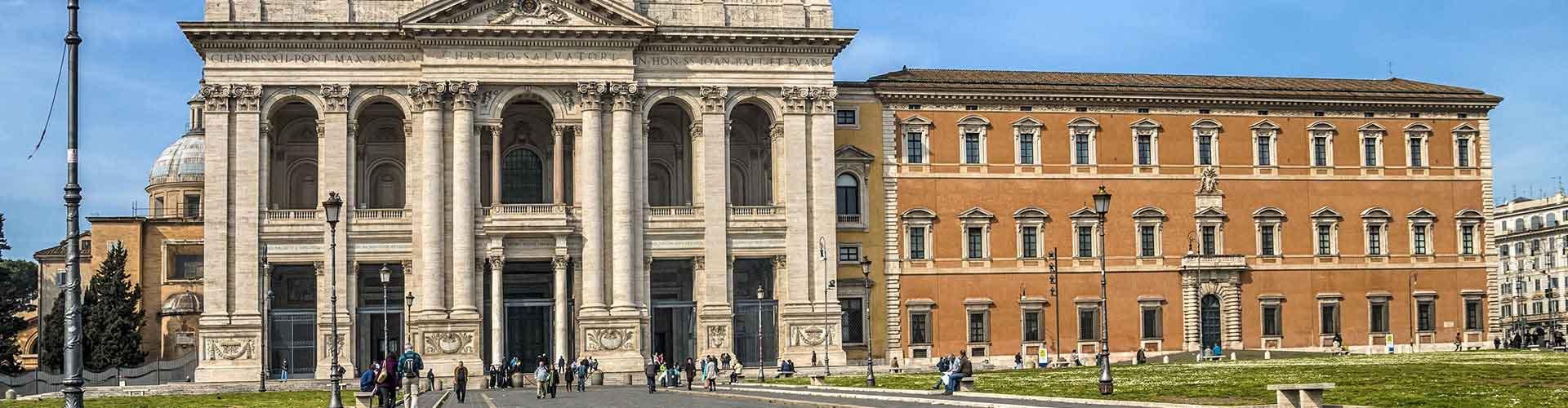 Rom – Hostels im Stadtteil San Giovanni. Rom auf der Karte. Fotos und Bewertungen für jedes Hostel in Rom.