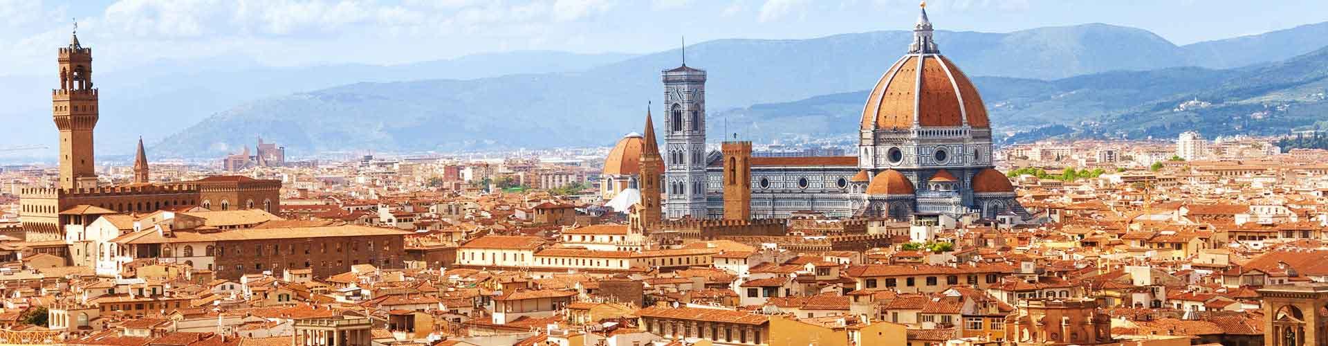 Florenz - Hostels nahe Stadtzentrum. Florenz auf der Karte. Fotos und Bewertungen für jedes Hostel in Florenz.