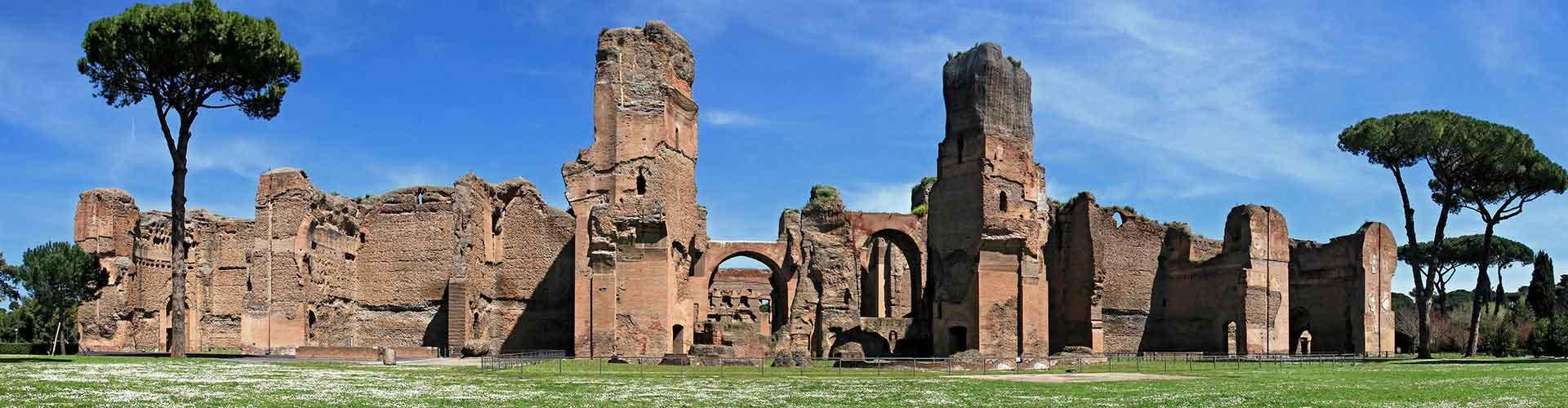 Rom – Hostels in der Nähe von Caracalla Therme. Rom auf der Karte. Fotos und Bewertungen für jedes Hostel in Rom.