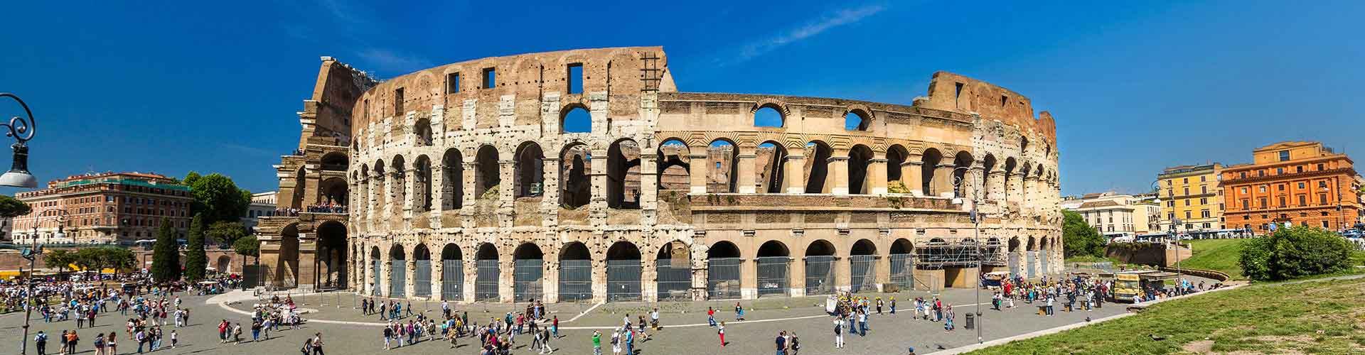 Rom – Hostels in der Nähe von Colosseum. Rom auf der Karte. Fotos und Bewertungen für jedes Hostel in Rom.