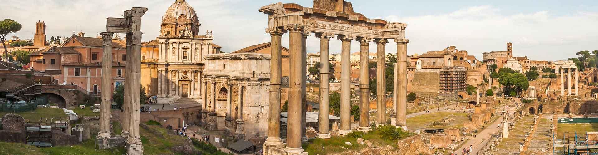 Rom – Hostels in der Nähe von Forum Romanum. Rom auf der Karte. Fotos und Bewertungen für jedes Hostel in Rom.