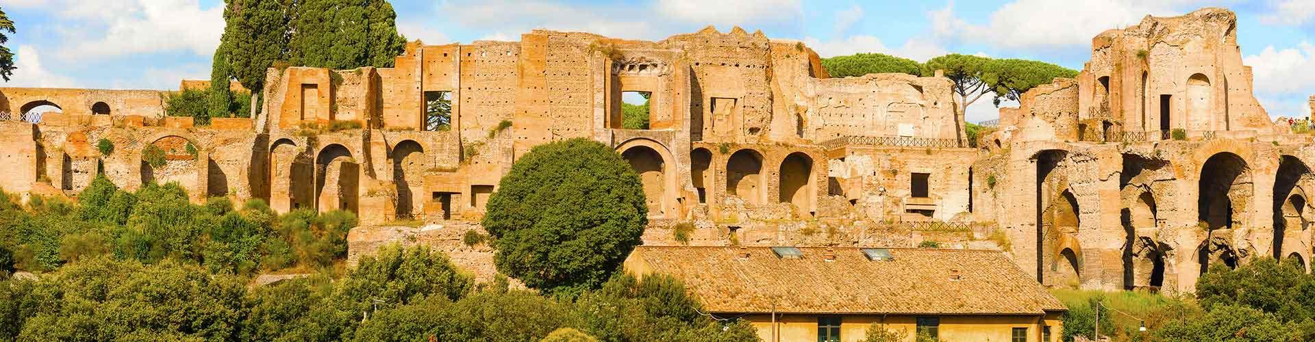 Rom – Hostels in der Nähe von Palatin. Rom auf der Karte. Fotos und Bewertungen für jedes Hostel in Rom.