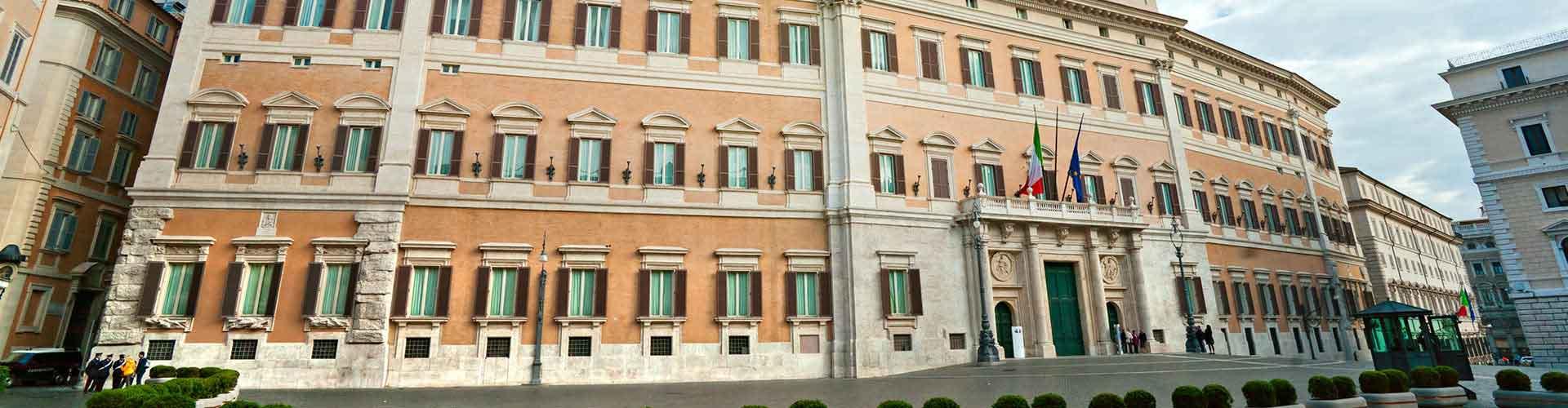 Rom – Hostels in der Nähe von Palazzo Montecitorio. Rom auf der Karte. Fotos und Bewertungen für jedes Hostel in Rom.