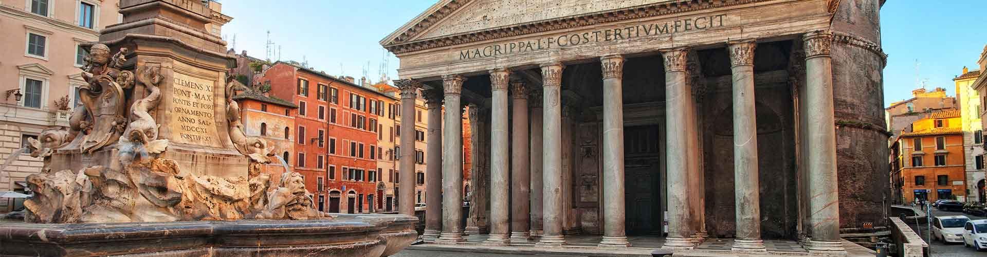 Rom – Hostels in der Nähe von Pantheon. Rom auf der Karte. Fotos und Bewertungen für jedes Hostel in Rom.