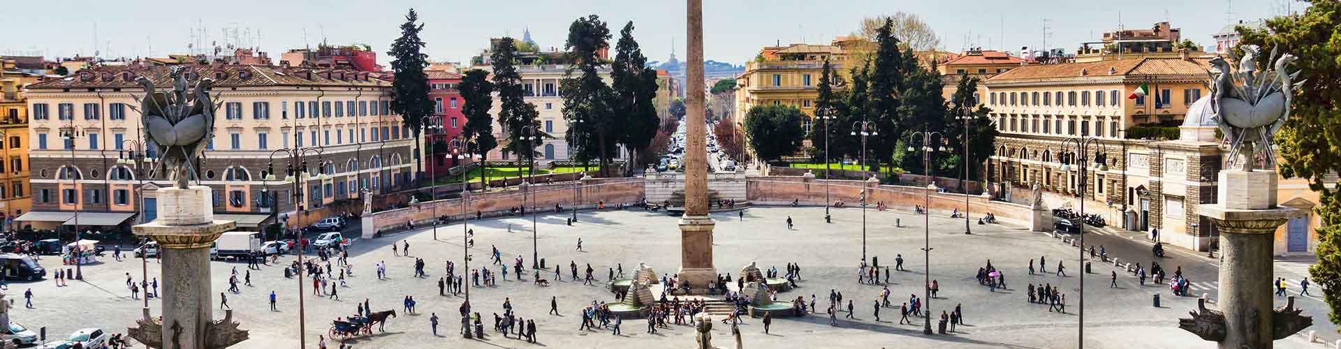 Rom – Hostels in der Nähe von Piazza del Popolo. Rom auf der Karte. Fotos und Bewertungen für jedes Hostel in Rom.