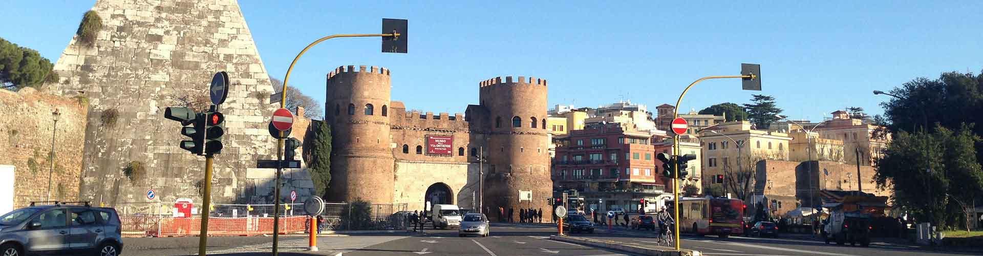 Rom – Hostels in der Nähe von Pyramide des Cestius. Rom auf der Karte. Fotos und Bewertungen für jedes Hostel in Rom.