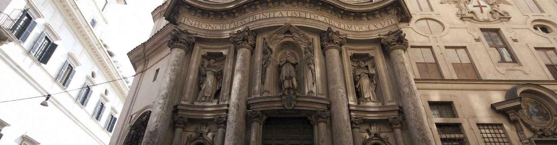 Rom – Hostels in der Nähe von San Carlo alle Quattro Fontane. Rom auf der Karte. Fotos und Bewertungen für jedes Hostel in Rom.