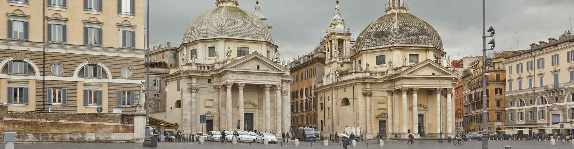 Rom – Hostels in der Nähe von Santa Maria del Popolo. Rom auf der Karte. Fotos und Bewertungen für jedes Hostel in Rom.