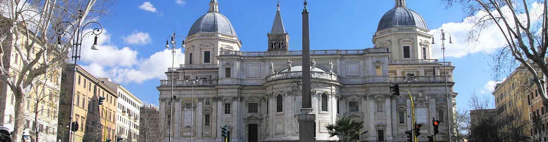 Rom – Hostels in der Nähe von Santa Maria Maggiore Kirche. Rom auf der Karte. Fotos und Bewertungen für jedes Hostel in Rom.