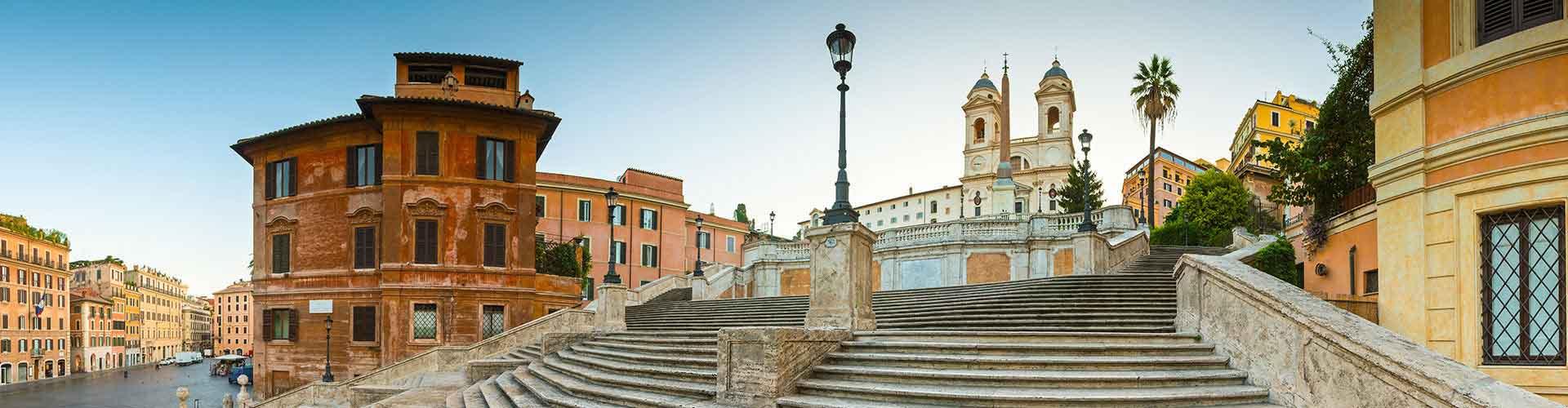 Rom – Hostels in der Nähe von Spanische Treppe. Rom auf der Karte. Fotos und Bewertungen für jedes Hostel in Rom.