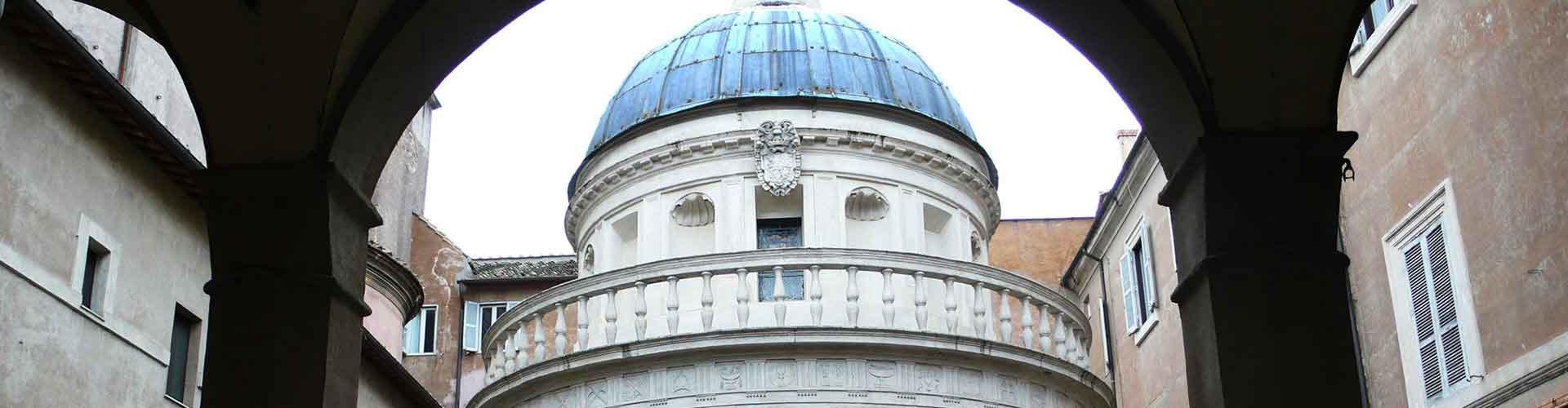 Rom – Hostels in der Nähe von Tempietto. Rom auf der Karte. Fotos und Bewertungen für jedes Hostel in Rom.