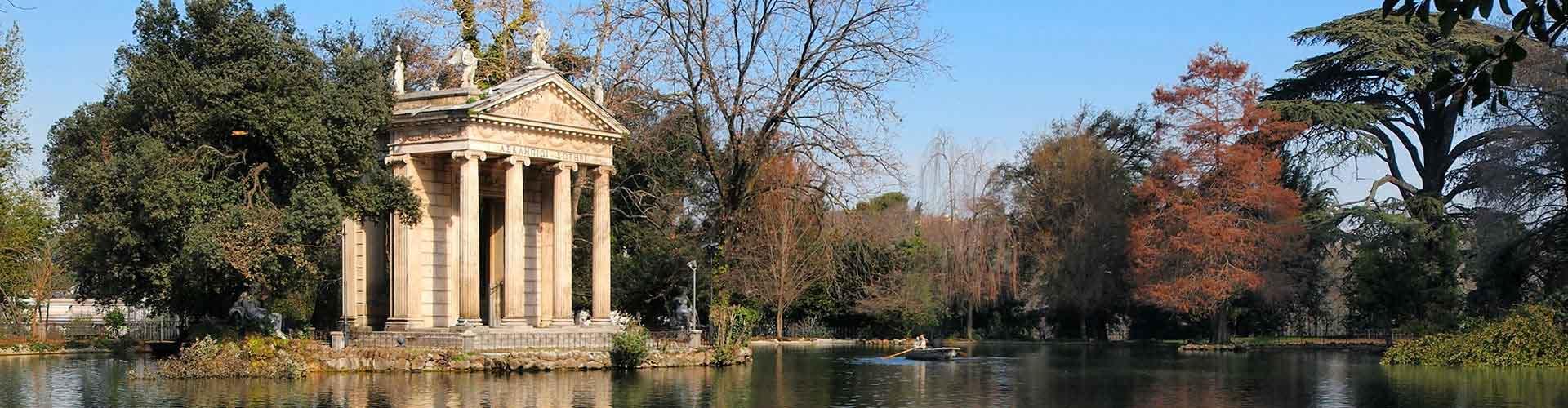 Rom – Hostels in der Nähe von Villa Borghese. Rom auf der Karte. Fotos und Bewertungen für jedes Hostel in Rom.