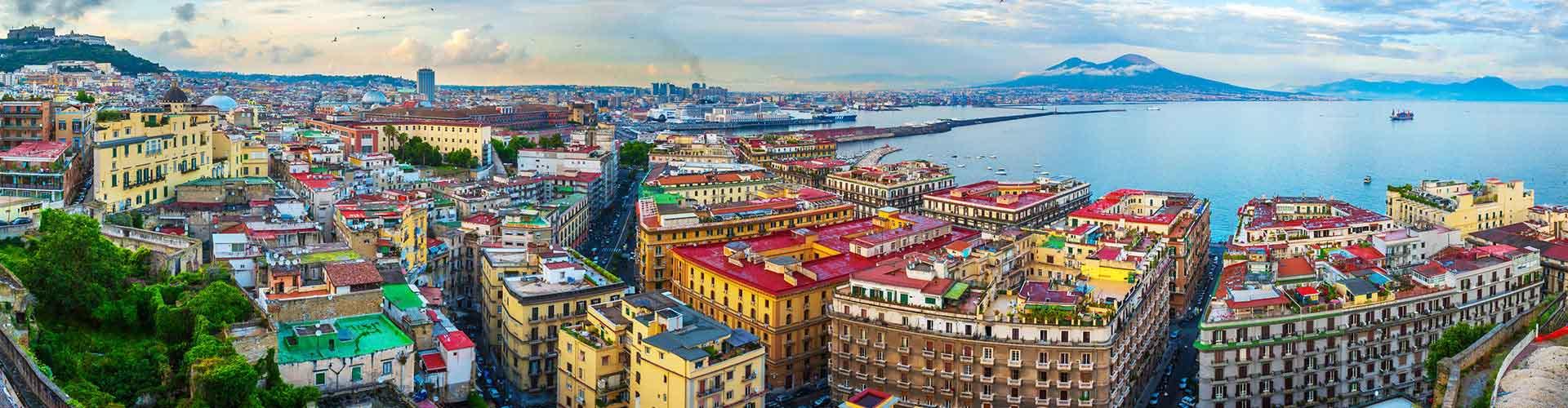Neapel – Studentenunterkünfte, Hostels und Büroräume in Neapel (Italien). Karte von Neapel, Fotos und Rezensionen von Studentenunterkünften, Hostels und Büroräumen in Neapel.