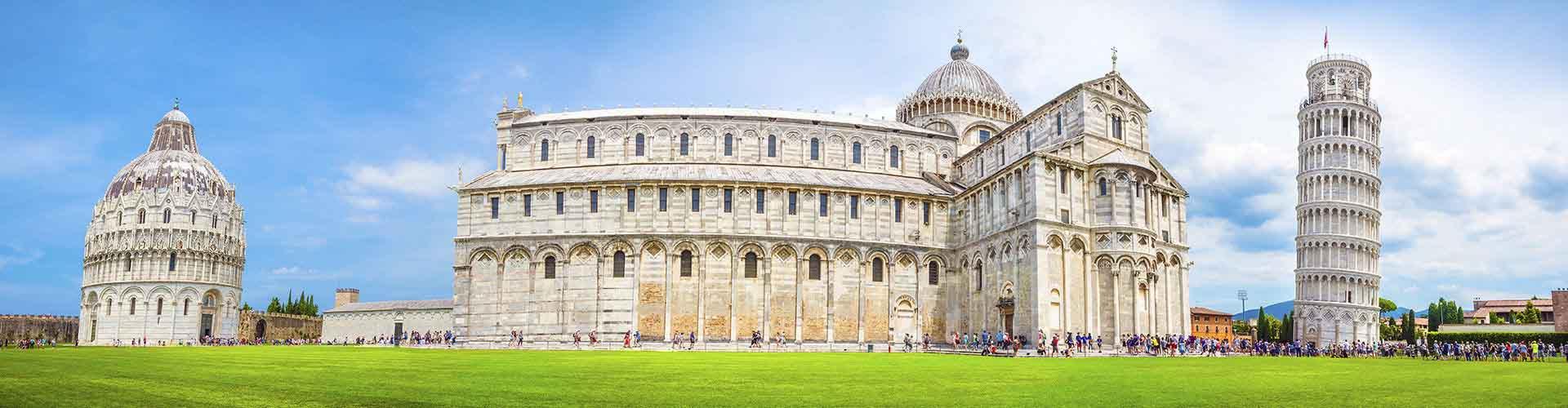 Pisa - Hotels nahe Pisa Hauptbahnhof. Pisa auf der Karte. Fotos und Bewertungen für jedes Hotel in Pisa.