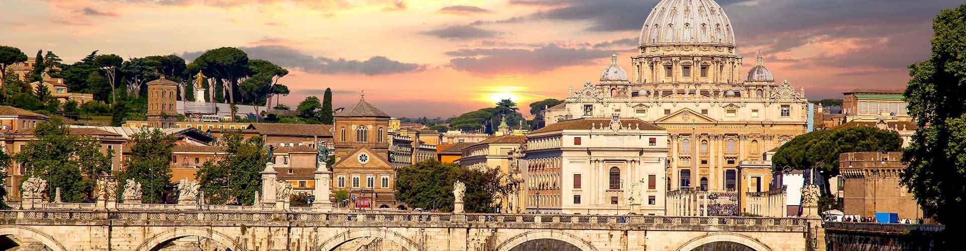 Rom – Hostels im Stadtteil Quartiere Primavalle. Rom auf der Karte. Fotos und Bewertungen für jedes Hostel in Rom.