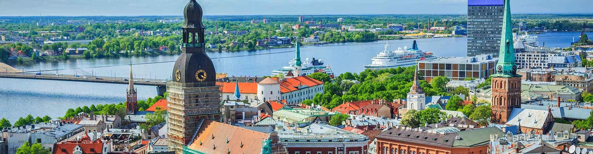 Riga – Hostels in Riga. Riga auf der Karte. Fotos und Bewertungen für jedes Hostel in Riga.