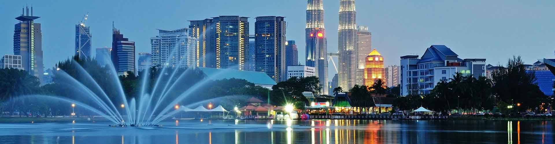 Kuala Lumpur – Hostels in Kuala Lumpur. Kuala Lumpur auf der Karte. Fotos und Bewertungen für jedes Hostel in Kuala Lumpur.