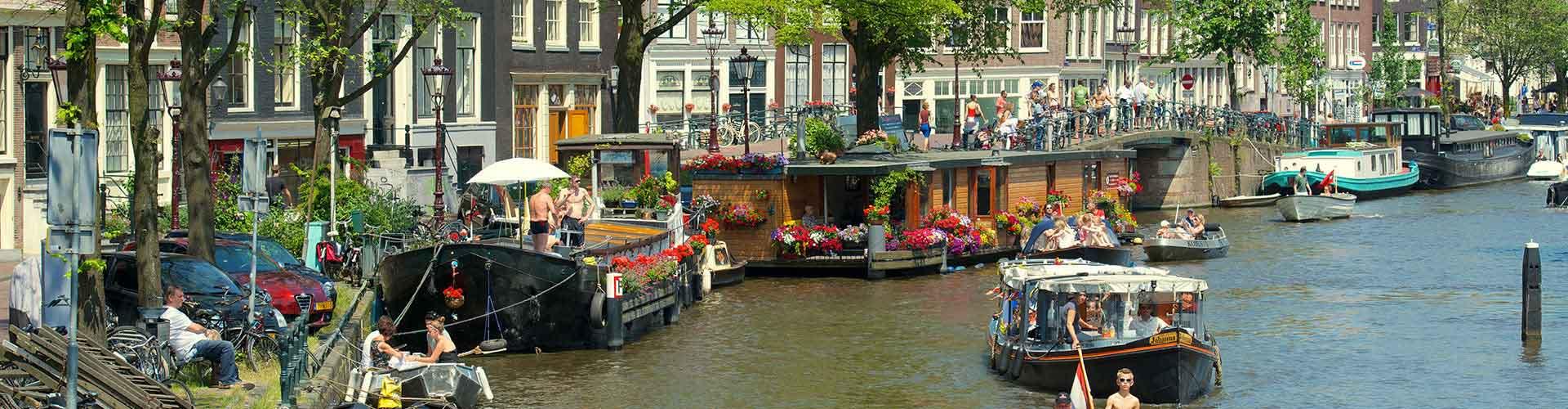 Amsterdam – Hostels im Stadtteil Amsterdam Centrum. Amsterdam auf der Karte. Fotos und Bewertungen für jedes Hostel in Amsterdam.