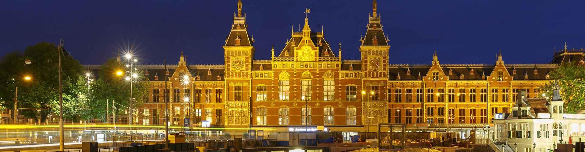 Amsterdam – Hostels in der Nähe von Amsterdam Hauptbahnhof. Amsterdam auf der Karte. Fotos und Bewertungen für jedes Hostel in Amsterdam.