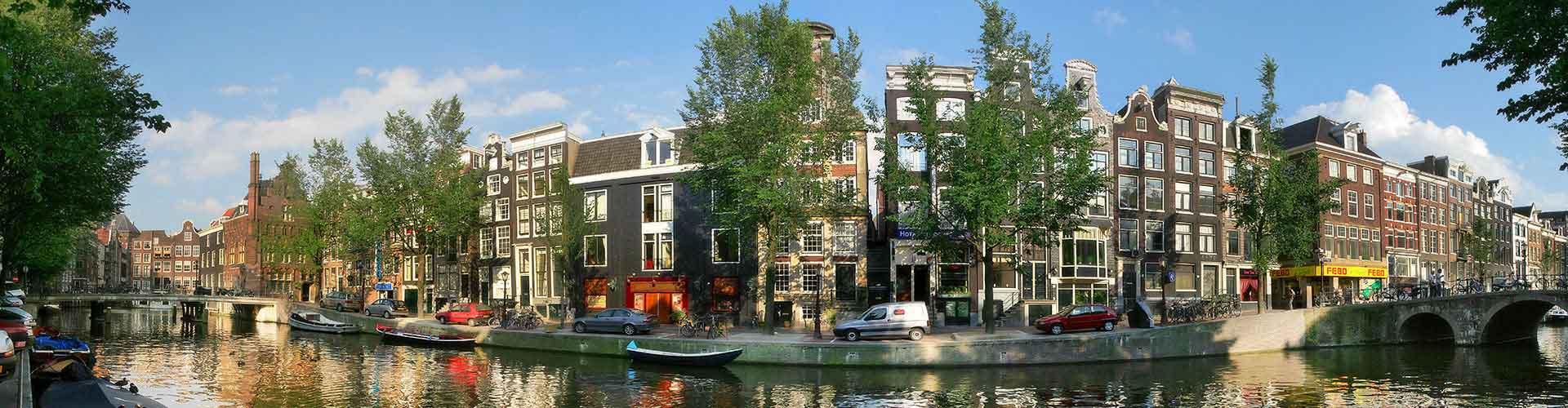 Amsterdam - Hotels nahe Stadtzentrum. Amsterdam auf der Karte. Fotos und Bewertungen für jedes Hotel in Amsterdam.
