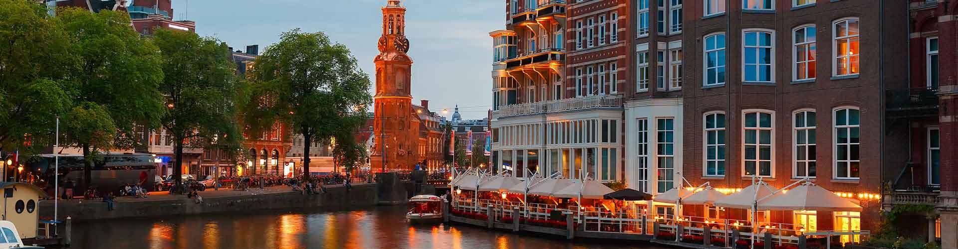 Amsterdam – Hostels in der Nähe von Munttoren. Amsterdam auf der Karte. Fotos und Bewertungen für jedes Hostel in Amsterdam.