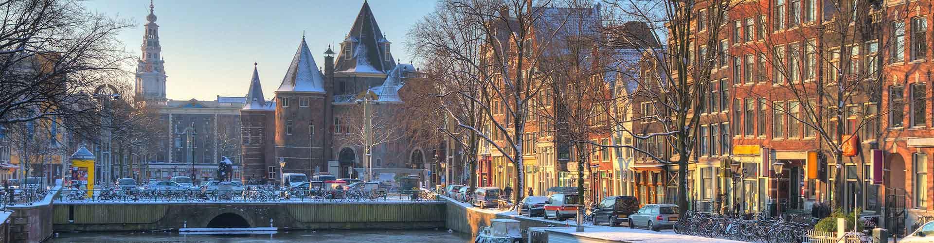 Amsterdam – Hostels in der Nähe von Nieuwmarkt. Amsterdam auf der Karte. Fotos und Bewertungen für jedes Hostel in Amsterdam.