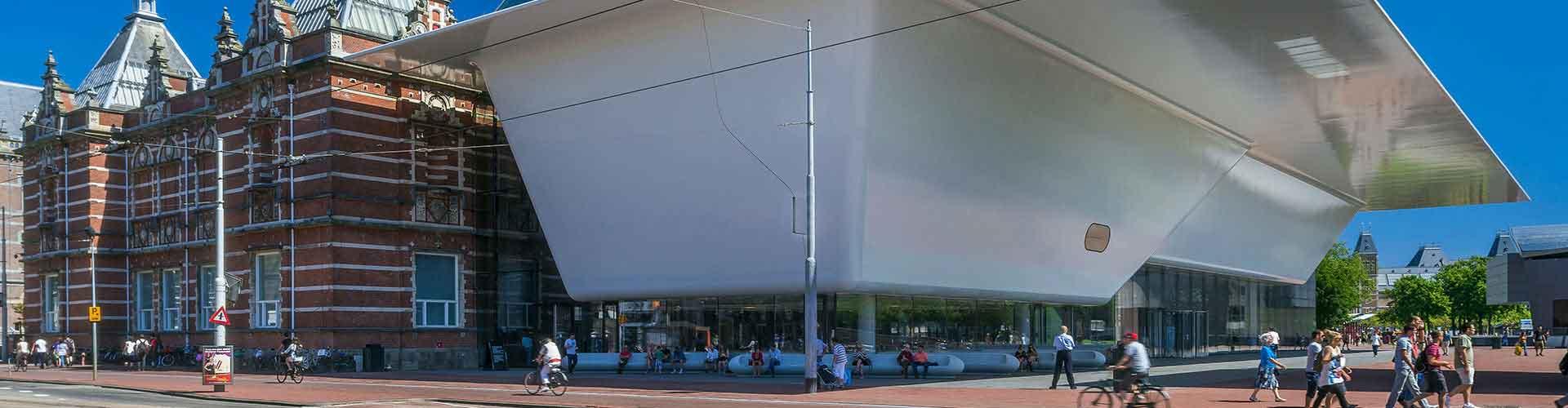 Amsterdam - Zelten nahe Stedelijk Museum. Amsterdam auf der Karte. Fotos und Bewertungen für jeden Zeltplatz in Amsterdam.