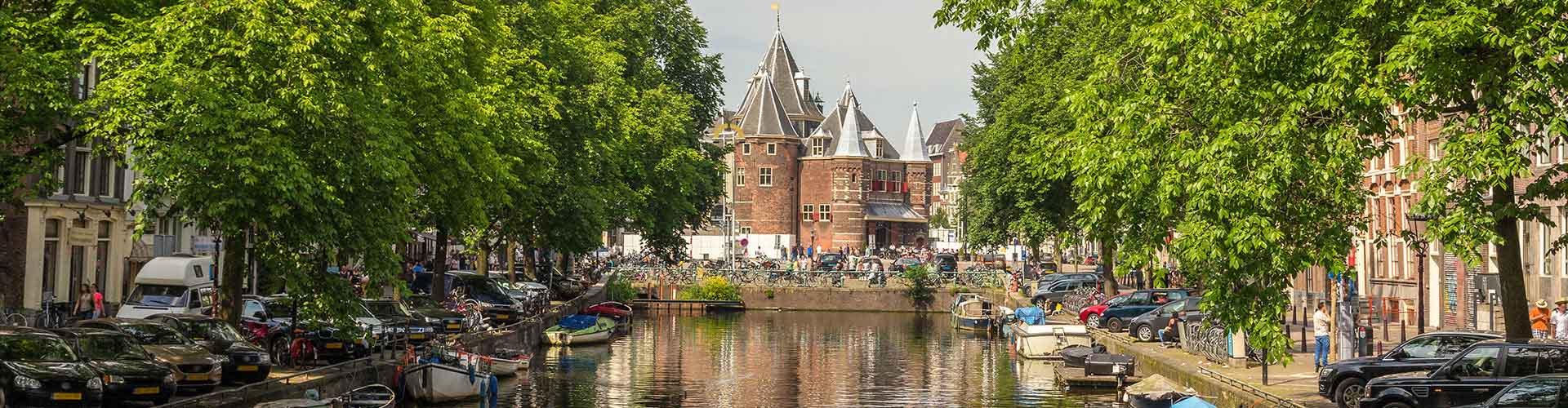 Amsterdam – Hostels in der Nähe von Wiegen Haus. Amsterdam auf der Karte. Fotos und Bewertungen für jedes Hostel in Amsterdam.