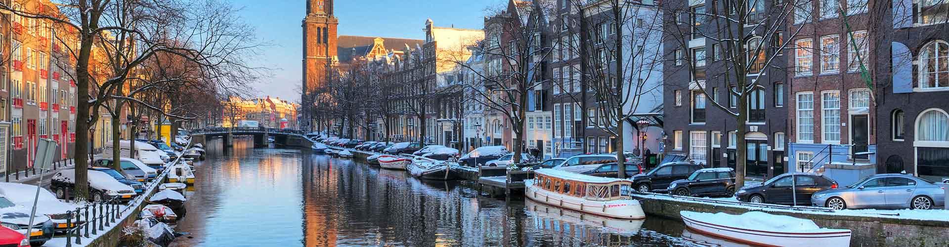Amsterdam – Hostels in der Nähe von Westerkerk. Amsterdam auf der Karte. Fotos und Bewertungen für jedes Hostel in Amsterdam.
