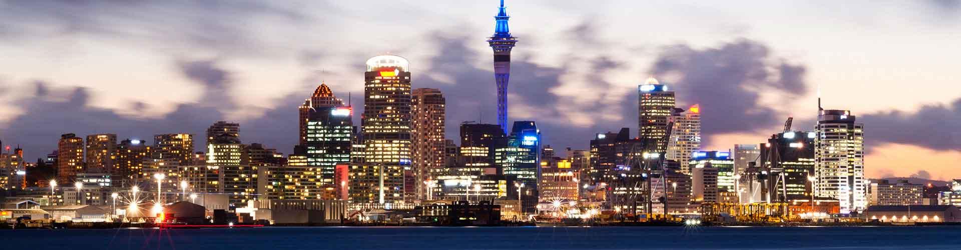 Auckland - Hostels nahe Stadtzentrum. Auckland auf der Karte. Fotos und Bewertungen für jedes Hostel in Auckland.