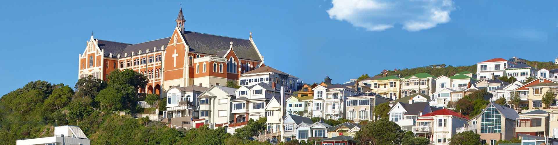 Wellington – Hostels in Wellington. Wellington auf der Karte. Fotos und Bewertungen für jedes Hostel in Wellington.