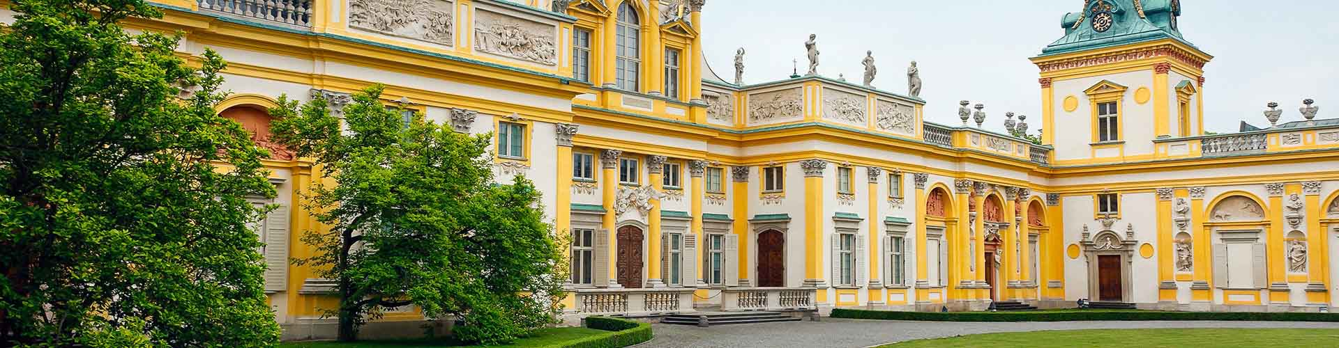 Warschau - Jugendherbergen in Warschau. Warschau auf der Karte. Fotos und Bewertungen für jede Jugendherberge in Warschau.