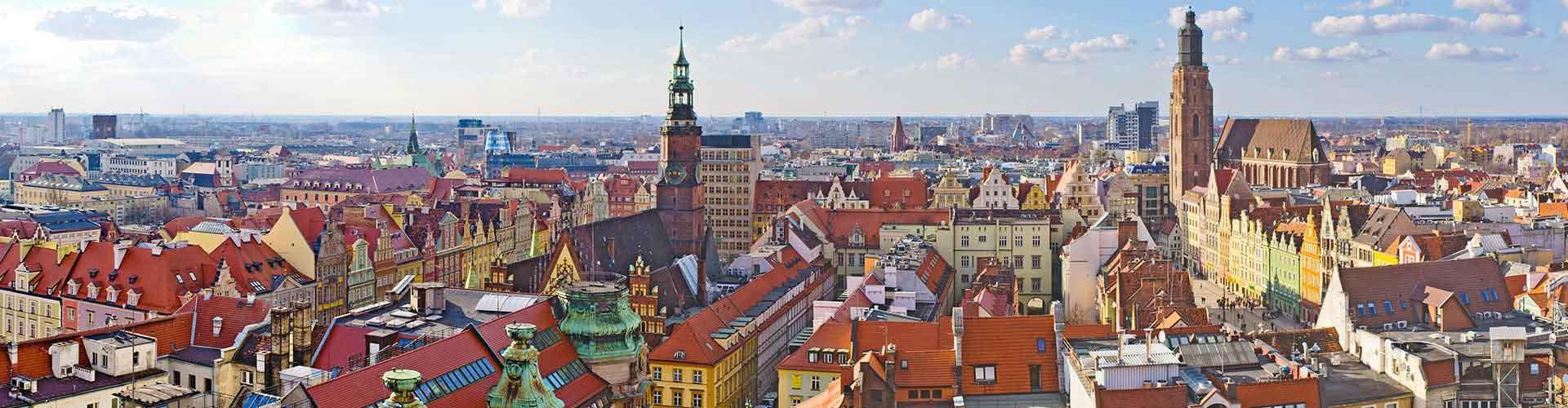Wroclaw – Hostels in Wroclaw. Wroclaw auf der Karte. Fotos und Bewertungen für jedes Hostel in Wroclaw.